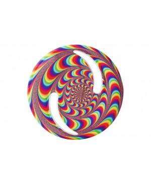 Frisbee flexible coloré