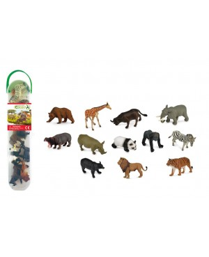 Collecta mini set de 12 animaux sauvages