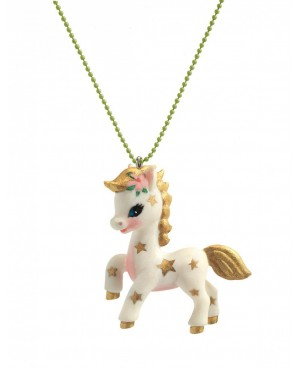 Pendentif Lovely charms Poney Djeco