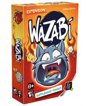 Wazabi extension supplément piment Gigamic