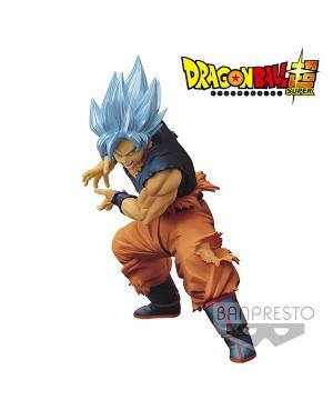 DBZ Maximatic Son Goku II Super Saiyan God Super Saiyan Son Goku 20cm