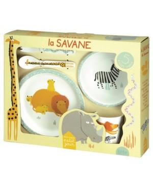 coffret cadeau 5 pièces la savane Petit Jour Paris
