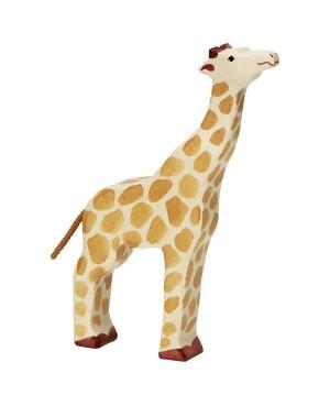 Girafe, tête haute Holztiger