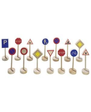 Assortiment de panneaux de signalisation I Goki
