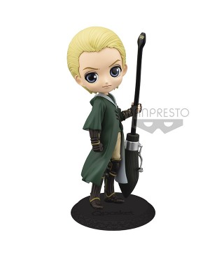 Harry Potter Q Posket Draco Malfoy Quidditch Style Ver A 14cm
