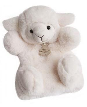 Marionnette agneau - Les douces marionnettes Histoire d'Ours