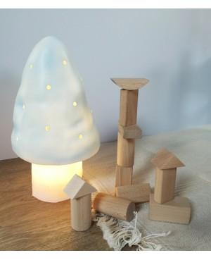 LAMPE CHAMPIGNON PETIT BLEU Egmont