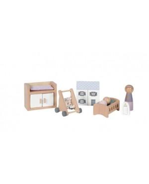 Maison de poupée - série de jeux Chambre Bébé Litle Dutch