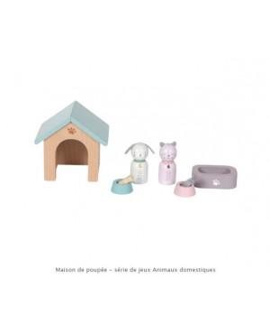 Maison de poupée - série de jeux Animaux domestiques Little Dutch