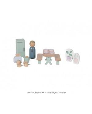 Maison de poupée - série de jeux Cuisine Little Dutch