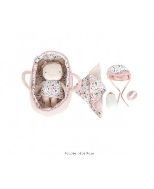 Poupée bébé Rosa  Little Dutch