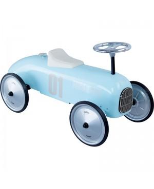 Porteur voiture vintage métal bleu tendre Vilac