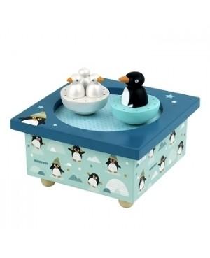 Boite à Musique Dancing Pingouins Trousselier.