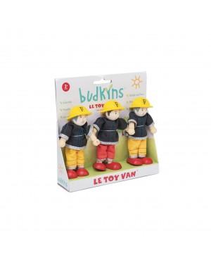 Coffret cadeau pompiers Le toy Van