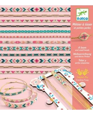 Bracelets et métier à tisser Minuscules Djeco