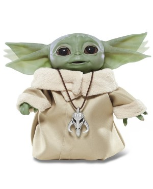 SW Star Wars Mandalorian The Child Baby Yoda Animatronic 19cm