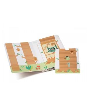 1,2,3 Forest mon premier livre puzzle Lilliputiens