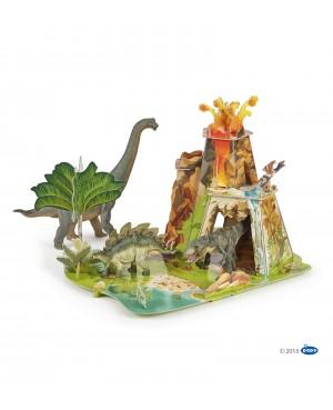 La terre des dinosaures Papo