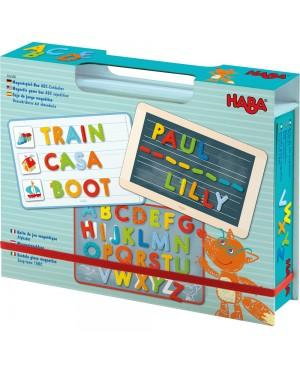 Boîte de jeu magnétique Alphabet Haba