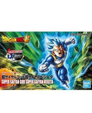 DBZ Maquette Figure-Rise Super Saiyan God Super Saiyan Vegeta 12cm