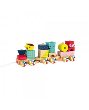 TRAIN BABY FOREST (BOIS) Janod