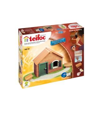 Maison avec plaque de toit (kit de démarrage) Teifoc