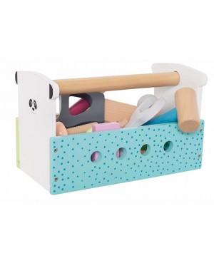 Boîte à outils multicolore