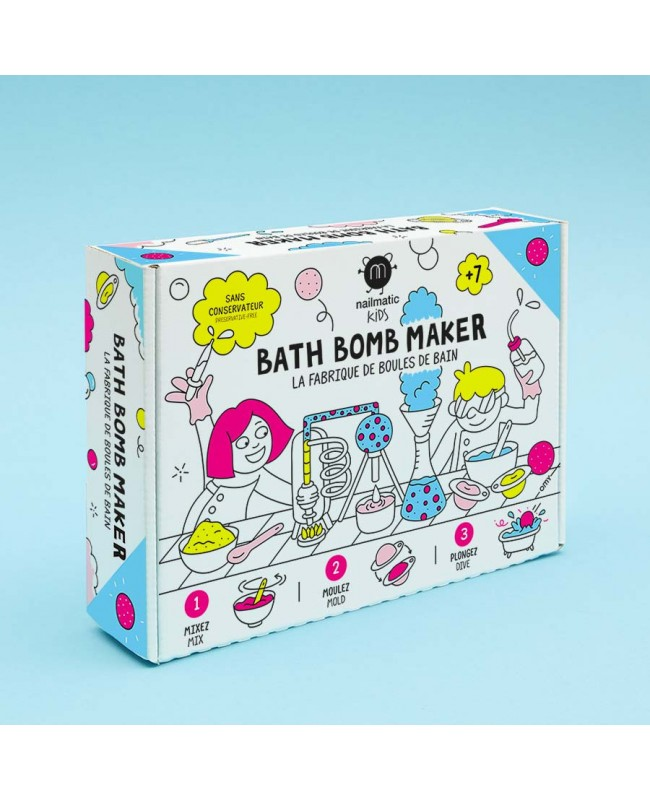 La fabrique de boules de bain Nailatic