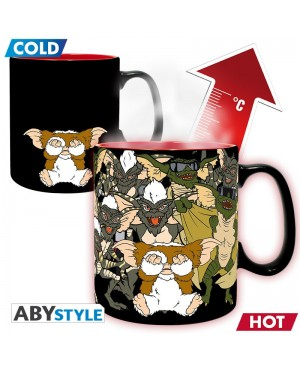 GREMLINS - Mug Heat Change - 460 ml - Ne pas mouiller