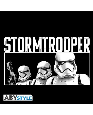 """STAR WARS - Tshirt """"Troopers E9"""" homme MC black- new fit"""