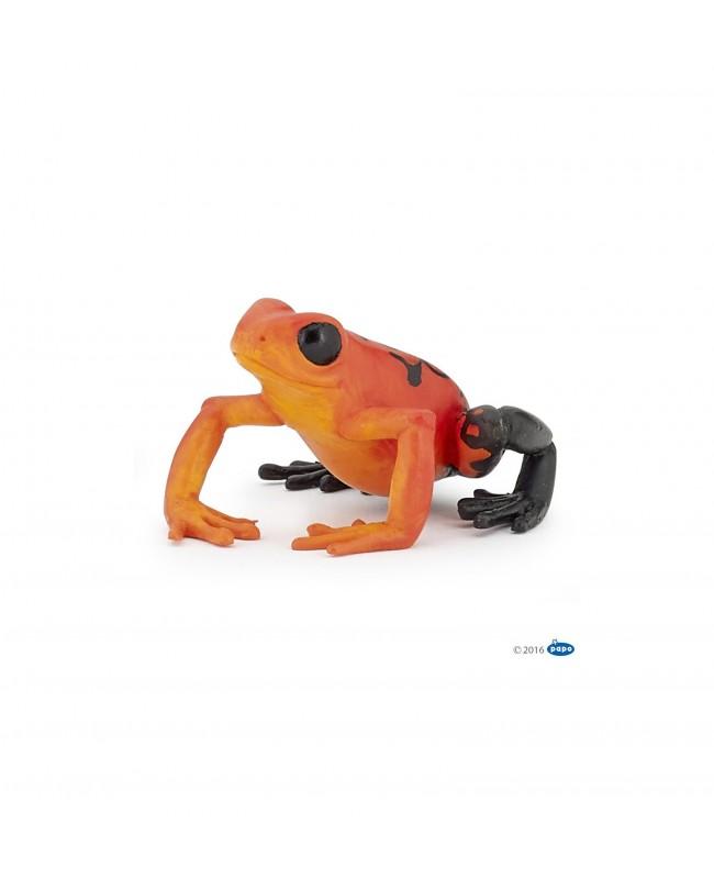 Grenouille équatoriale rouge Papo