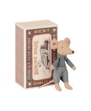 Little brother mouse in matchbox PETITE SOURIS FRÈRE DANS LA BOÎTE D'ALLUMETTES Maileg