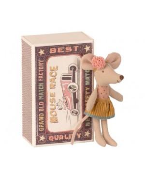 Little sister mouse in matchbox PETITE SOEUR SOURIS DANS LA BOÎTE D'ALLUMETTES Maileg
