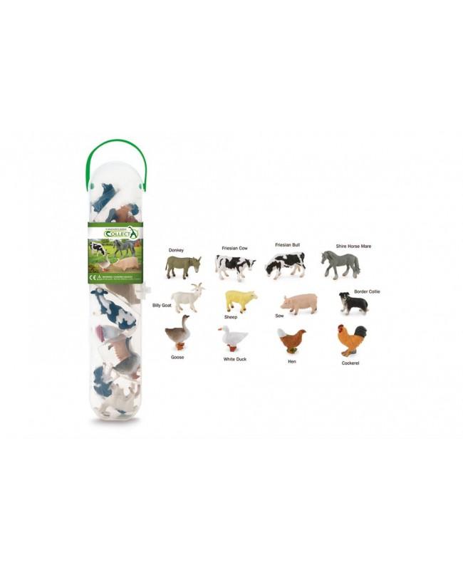 Collecta ferme SET DE 12 ANIMAUX DE LA FERME
