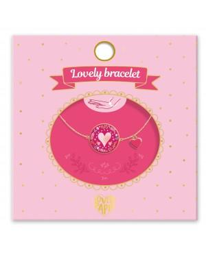 Lovely Bracelet coeur Djeco