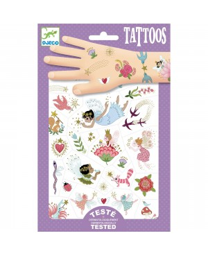 Tatouage Fairy Friends Djeco