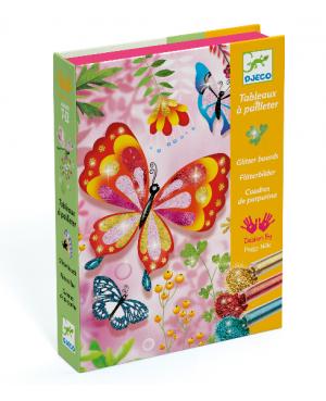 Tableaux à pailleter Papillons Djeco