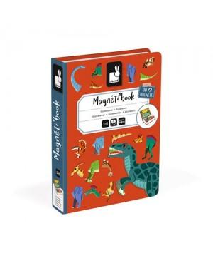 Magnéti'book dinosaures Janod