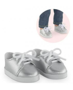 Chaussures Argentées pour poupée ma Corolle 36 cm