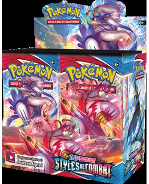 Pokémon EB05:épée et bouclier: Styles de combat Asmodee