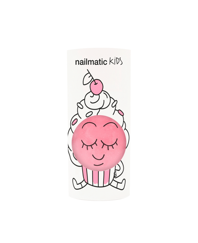 Vernis enfant base eau - Cookie - rose Nailmatic