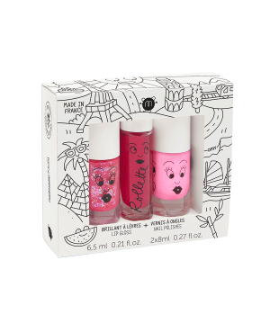 Coffret 2 vernis + 1 rollette - World Tour Nailmatic