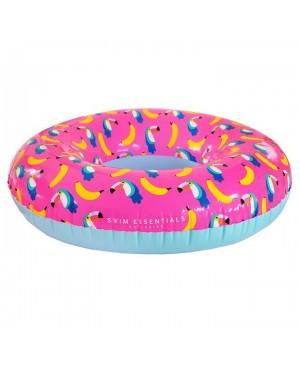 Bande de natation gonflable à imprimé toucan/banane Swim Essentials