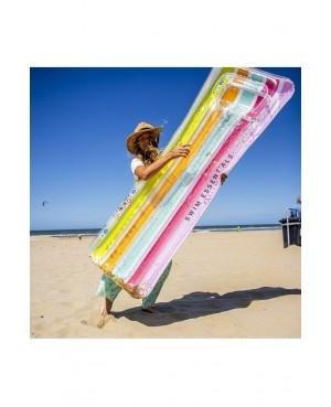 Flotteur matelas arc en ciel 177x67 cm Swim Essentials