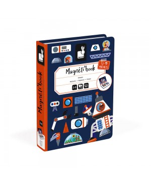 MAGNÉTI'BOOK COSMOS, 52 MAGNETS Janod