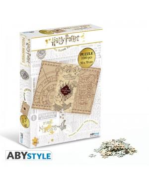 HARRY POTTER Puzzle 1000 pièces Carte du Maraudeur Abystyle