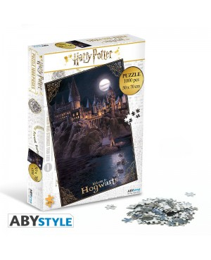 HARRY POTTER-Puzzle 1000 Pièces Poudlard Abystyle
