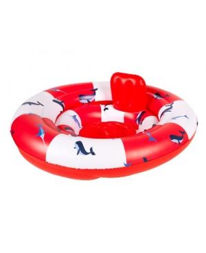 Siège de bain gonflable Baleine pour bébé ( 0-12 mois) Swim Essentials