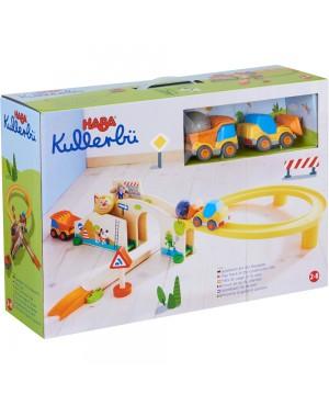 Kullerbü-Circuit de jeu Au Chantier Haba