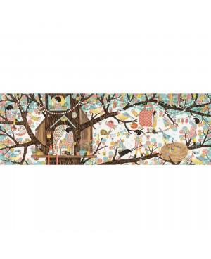 Puzzle Gallery Tree house 200 pièces Djeco